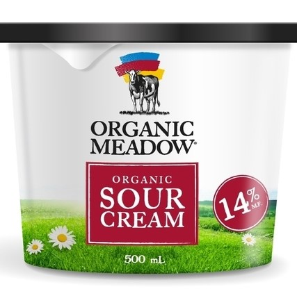 Organic Meadow sour cream