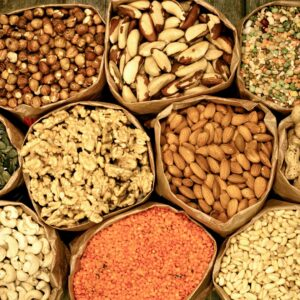 Nuts, seeds and grains