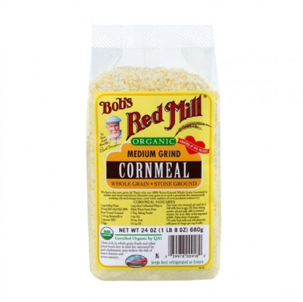 Bobs red mill organic cornmeal