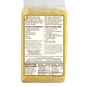 Bobs red mill organic cornmeal nutritional facts