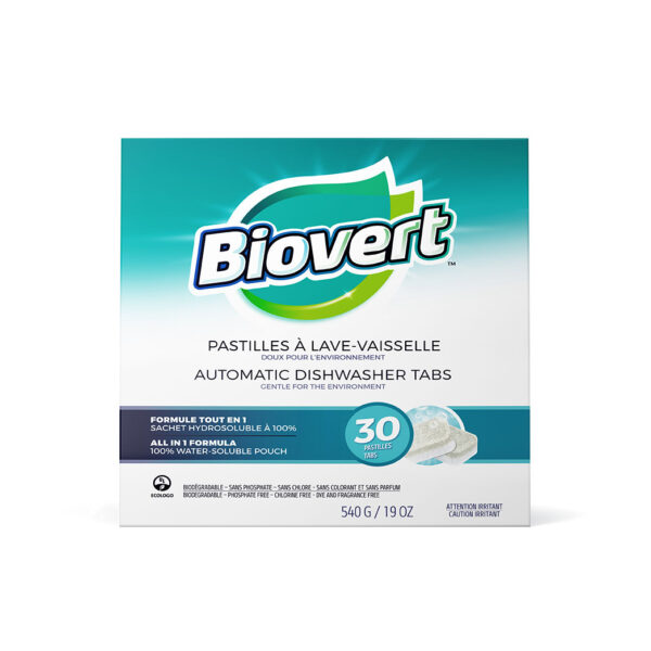 Biovert all in 1 dishwasher tabs
